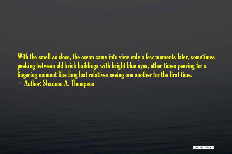Seeing The Ocean For The First Time Quotes By Shannon A. Thompson