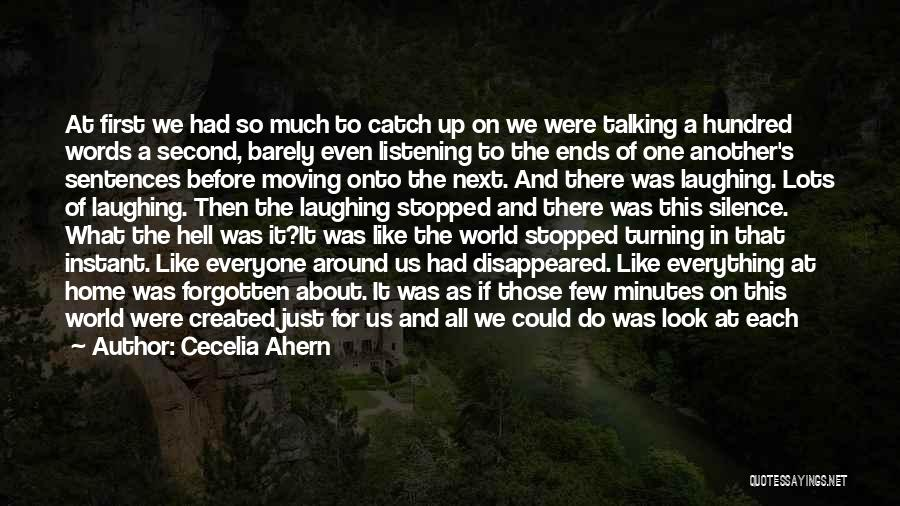 Seeing The World Quotes By Cecelia Ahern
