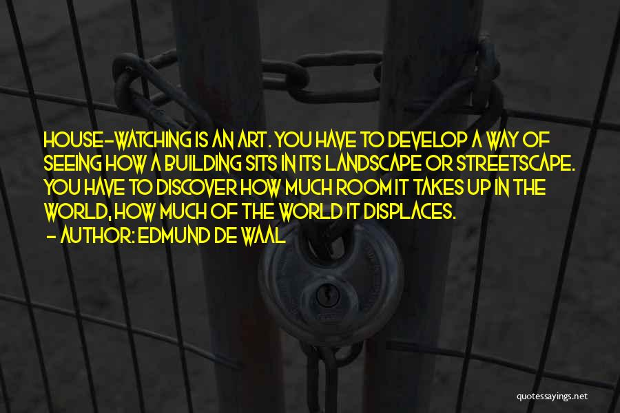 Seeing The World Quotes By Edmund De Waal