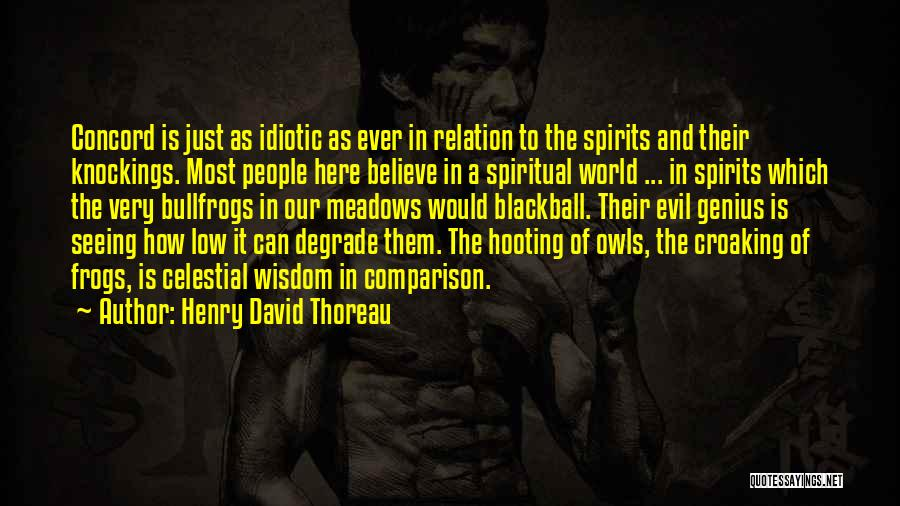 Seeing The World Quotes By Henry David Thoreau