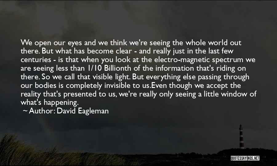 Seeing Through Someone Else Eyes Quotes By David Eagleman