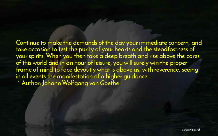 Seeing You Make My Day Quotes By Johann Wolfgang Von Goethe