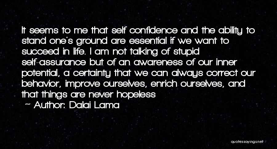 Seems Hopeless Quotes By Dalai Lama