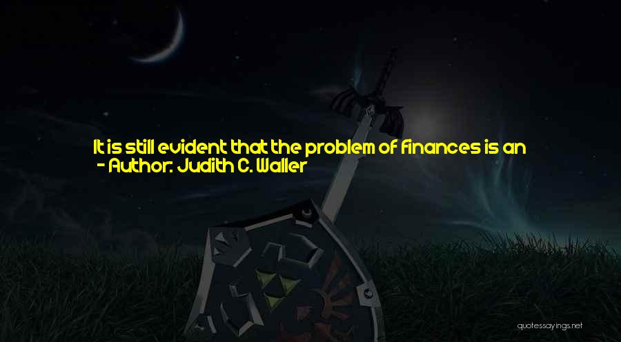 Seems Hopeless Quotes By Judith C. Waller