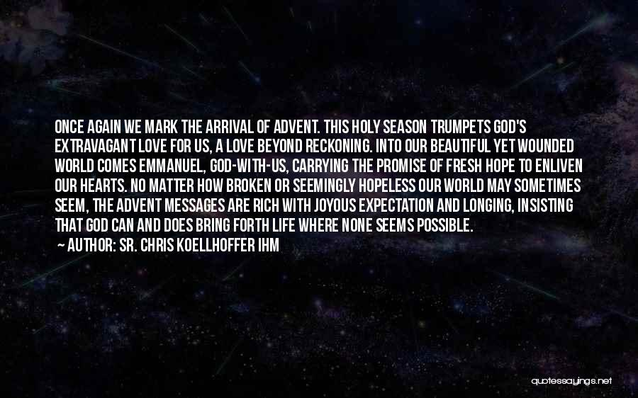 Seems Hopeless Quotes By Sr. Chris Koellhoffer IHM