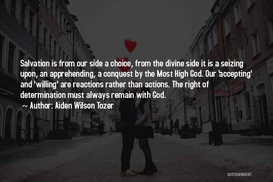 Seizing Quotes By Aiden Wilson Tozer
