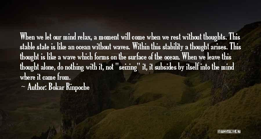 Seizing Quotes By Bokar Rinpoche