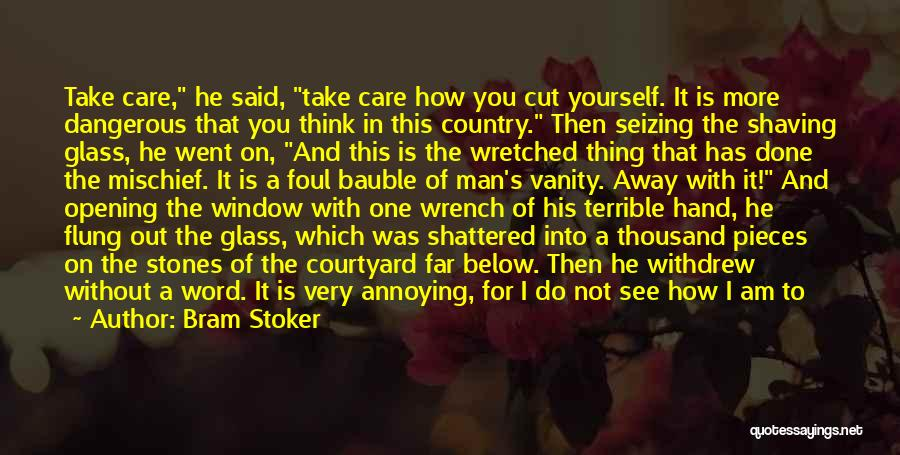 Seizing Quotes By Bram Stoker