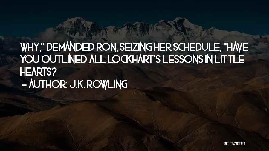 Seizing Quotes By J.K. Rowling