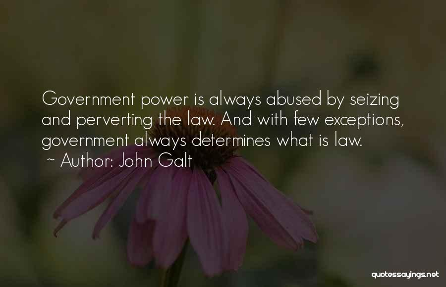 Seizing Quotes By John Galt
