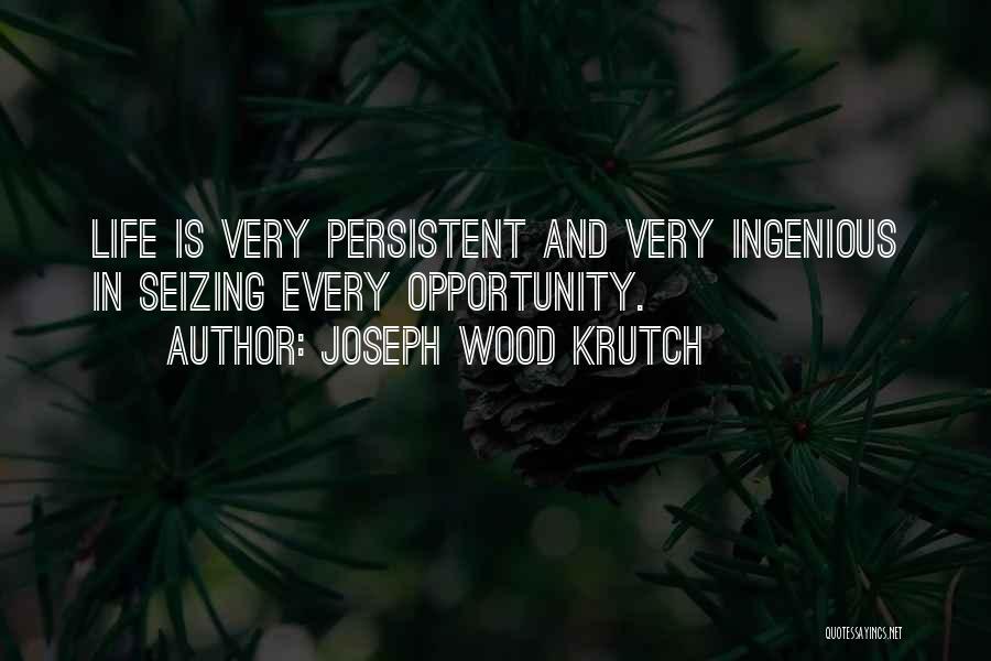 Seizing Quotes By Joseph Wood Krutch