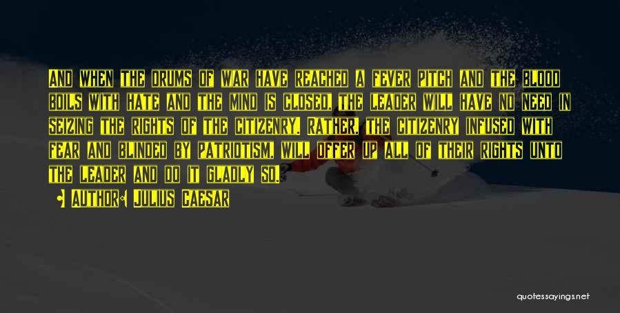 Seizing Quotes By Julius Caesar