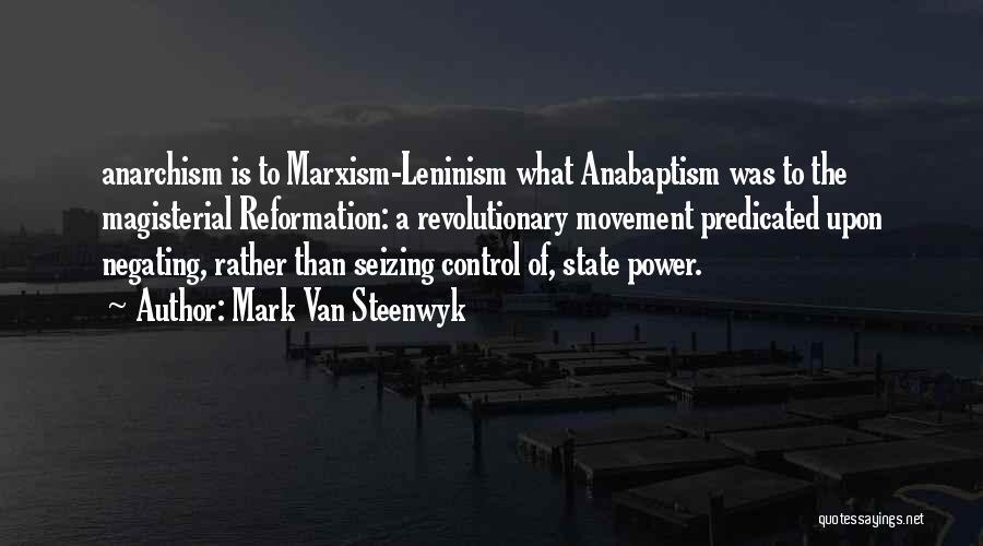 Seizing Quotes By Mark Van Steenwyk