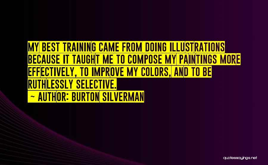 Selective Color Quotes By Burton Silverman