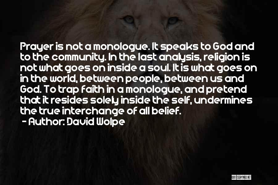 Self And God Quotes By David Wolpe