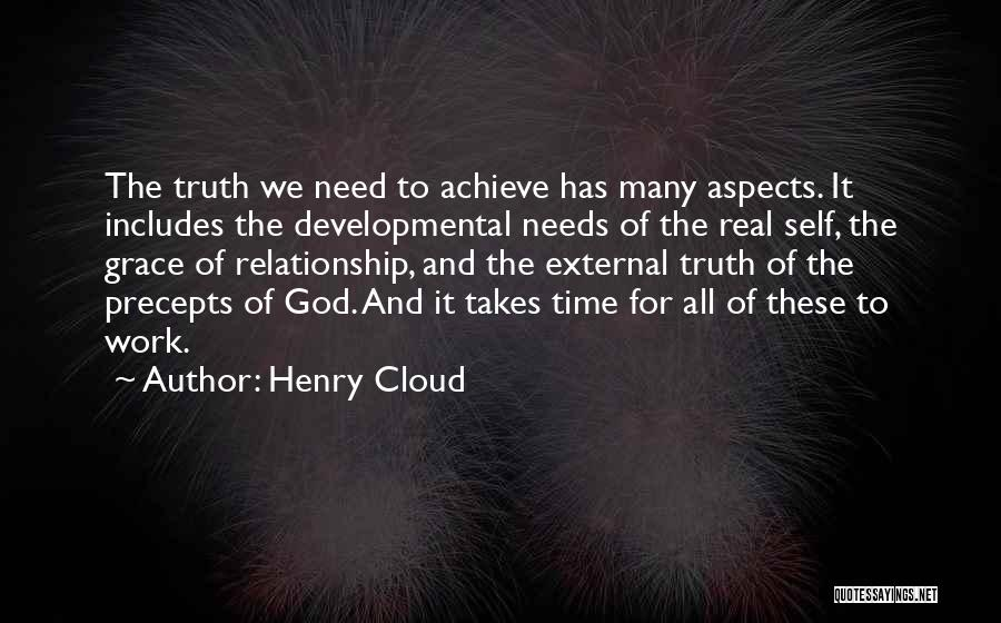 Self And God Quotes By Henry Cloud