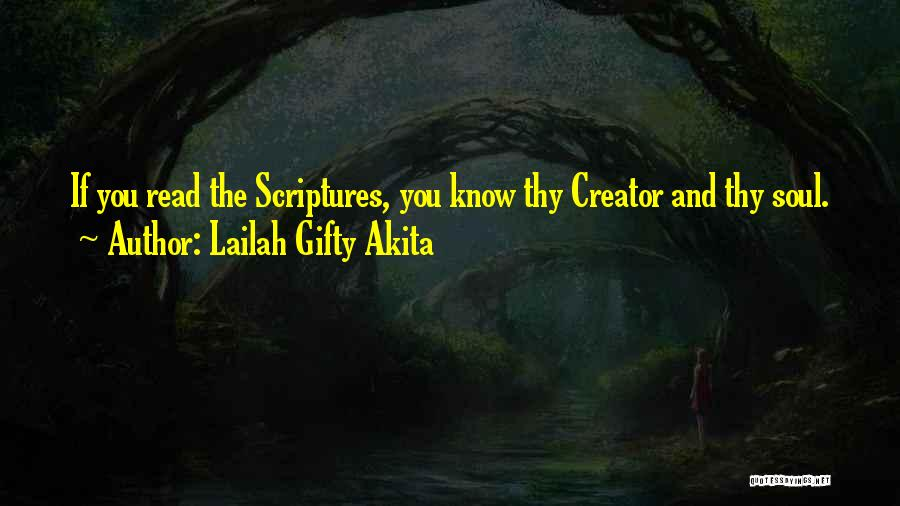 Self And God Quotes By Lailah Gifty Akita