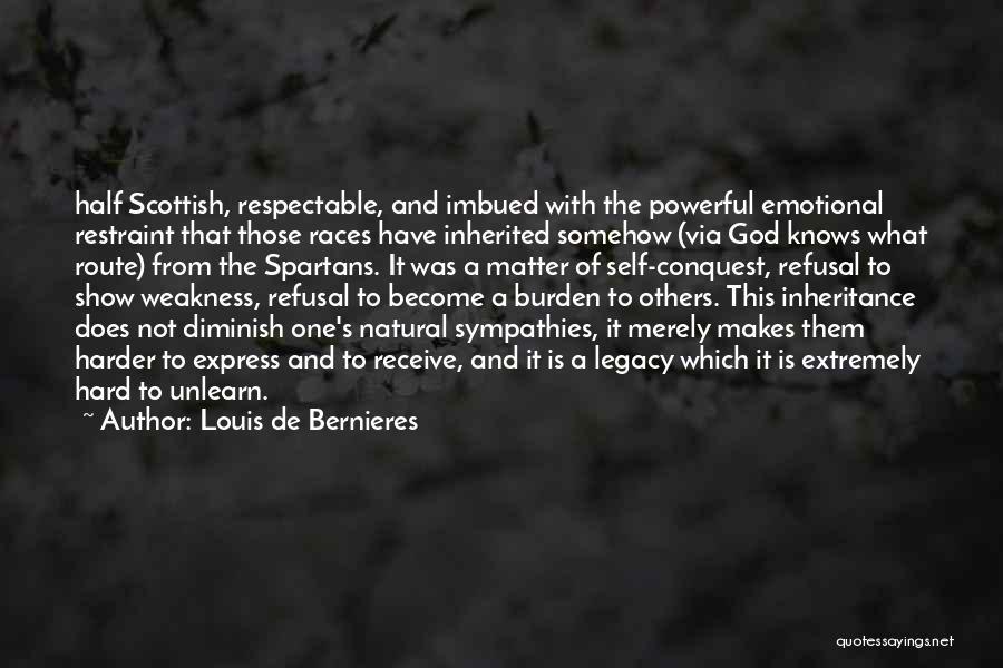 Self And God Quotes By Louis De Bernieres
