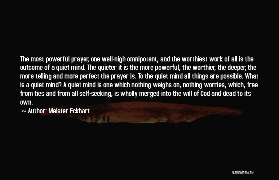Self And God Quotes By Meister Eckhart