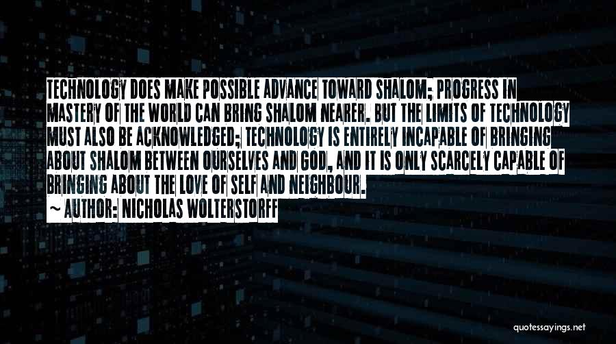 Self And God Quotes By Nicholas Wolterstorff