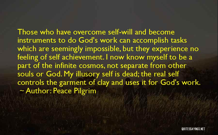 Self And God Quotes By Peace Pilgrim