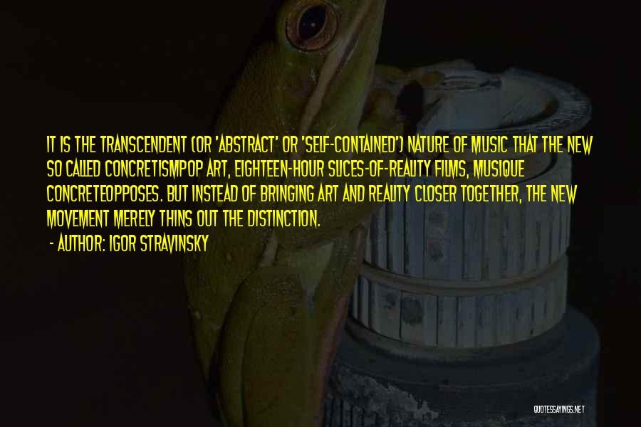 Self And Music Quotes By Igor Stravinsky