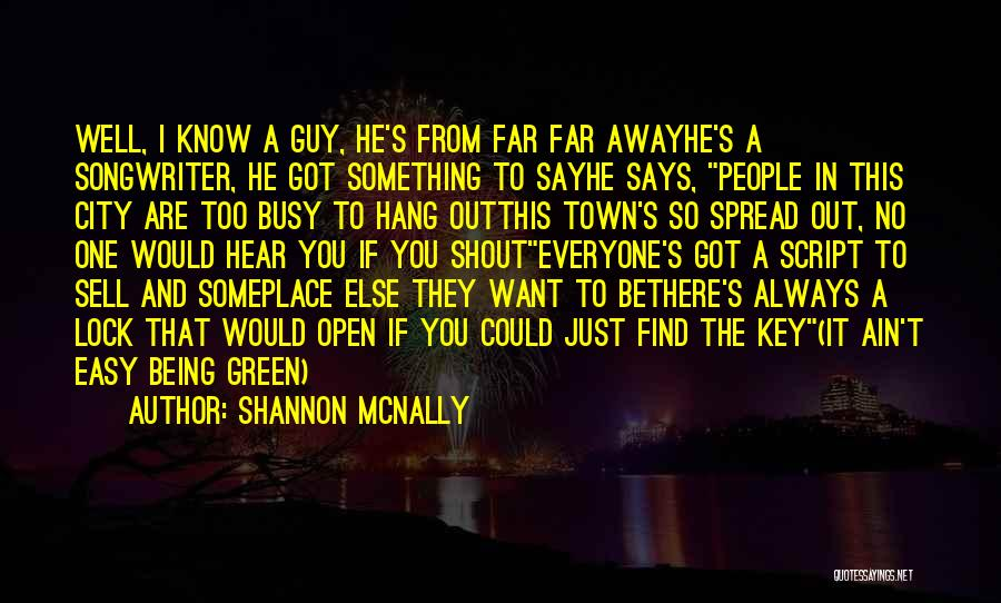 Self And Music Quotes By Shannon McNally