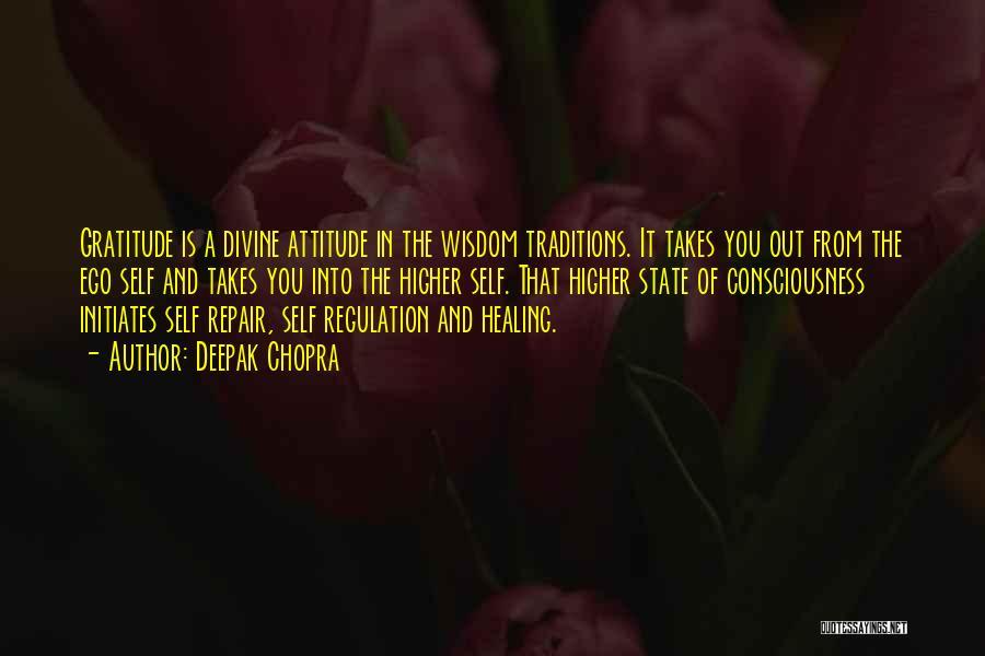 Self Attitude Quotes By Deepak Chopra