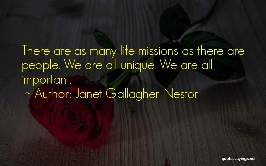 Self Attitude Quotes By Janet Gallagher Nestor