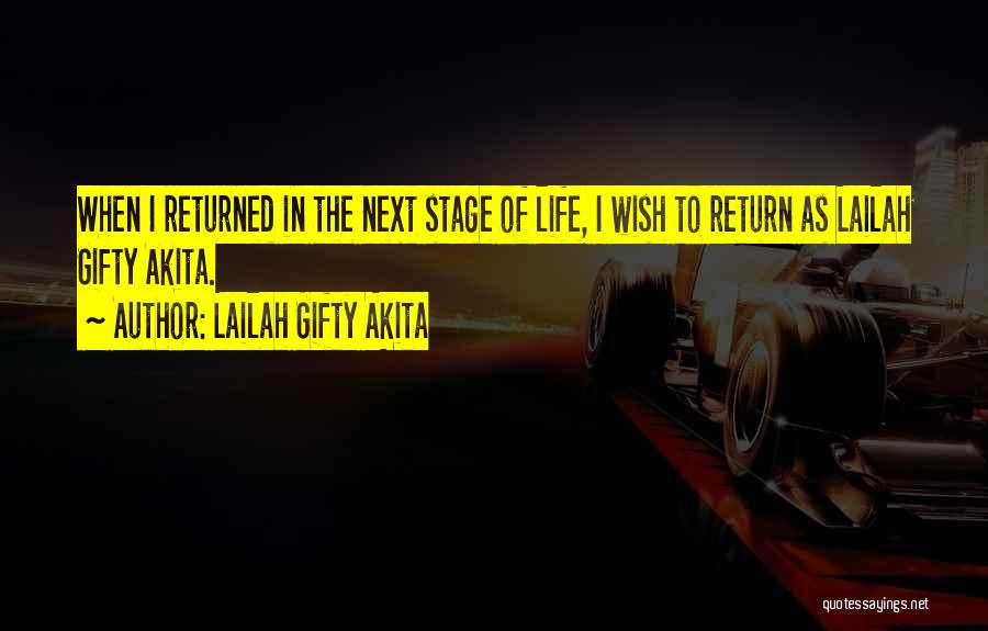 Self Attitude Quotes By Lailah Gifty Akita