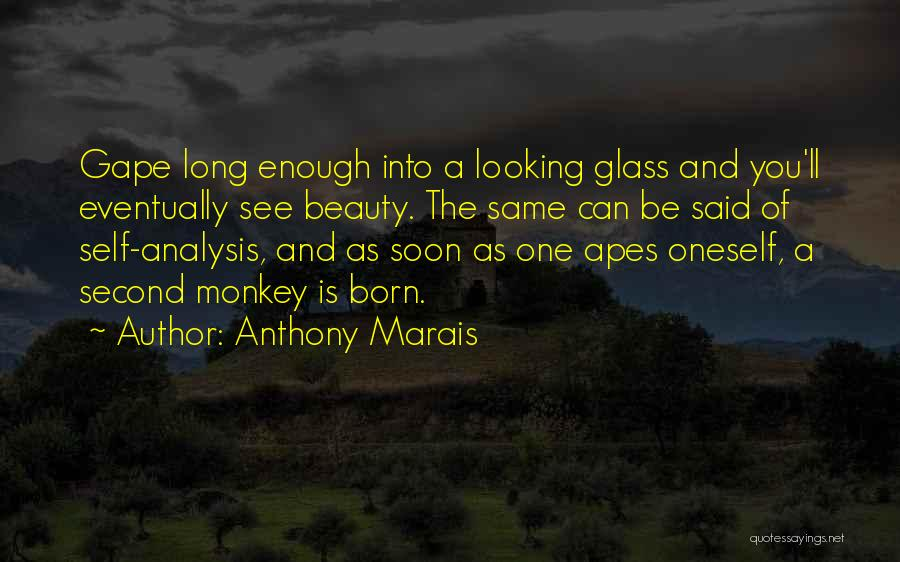 Self Beauty Quotes By Anthony Marais