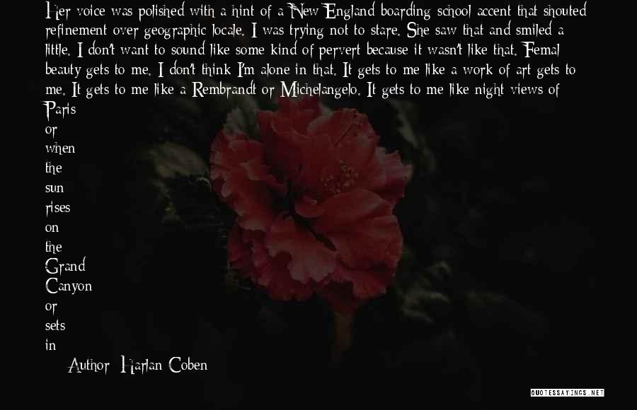 Self Beauty Quotes By Harlan Coben