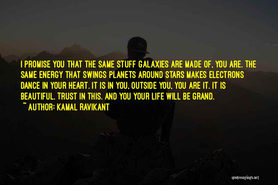 Self Beauty Quotes By Kamal Ravikant