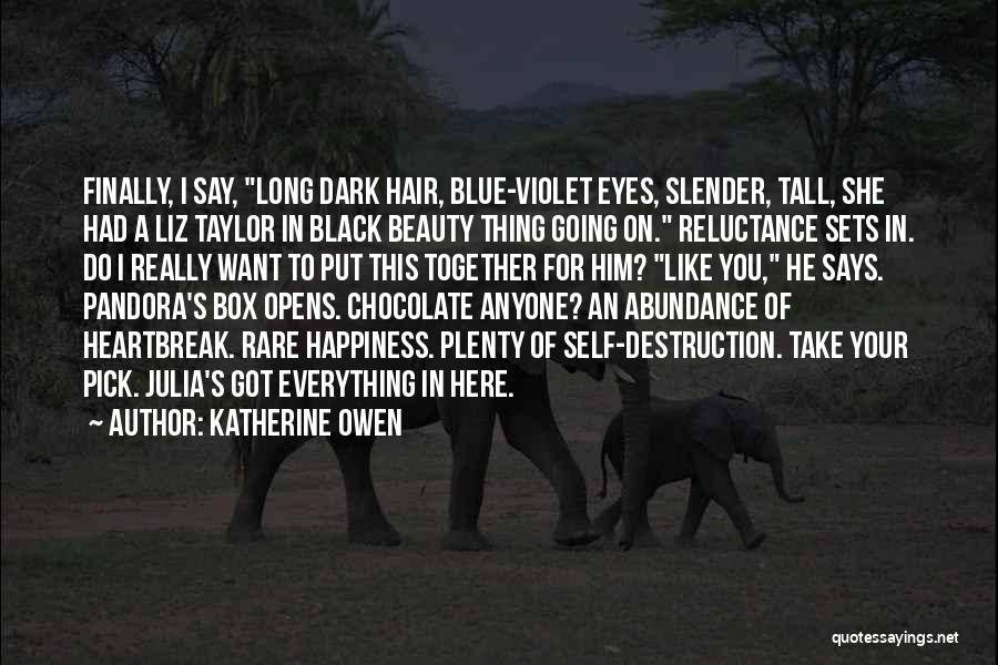 Self Beauty Quotes By Katherine Owen