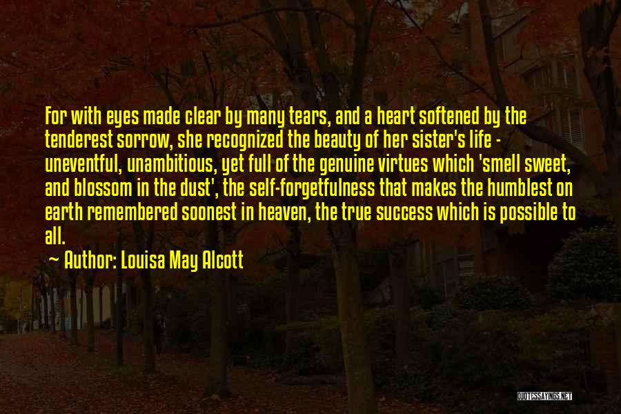Self Beauty Quotes By Louisa May Alcott