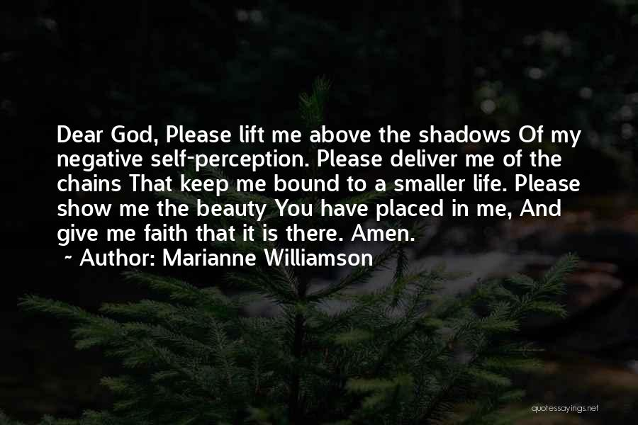 Self Beauty Quotes By Marianne Williamson