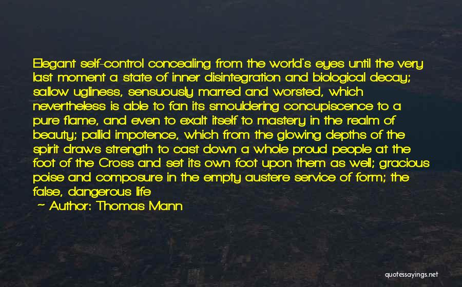 Self Beauty Quotes By Thomas Mann