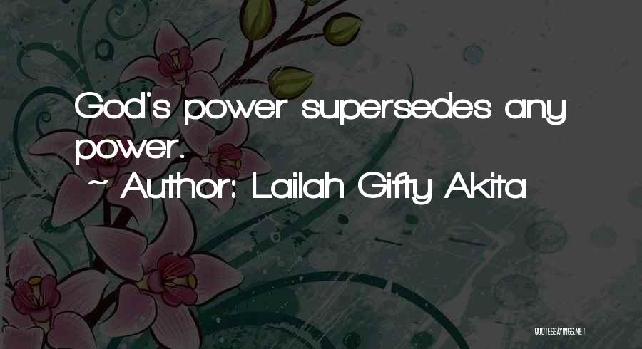 Self Believer Quotes By Lailah Gifty Akita