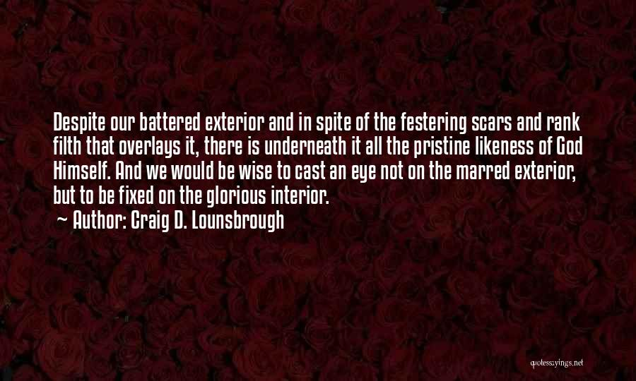 Self Confidence And Beauty Quotes By Craig D. Lounsbrough