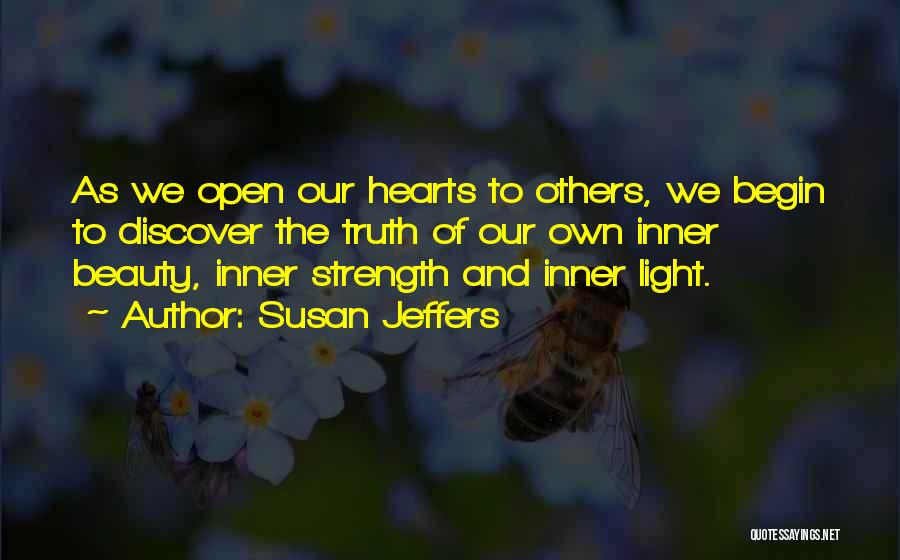 Self Confidence And Beauty Quotes By Susan Jeffers