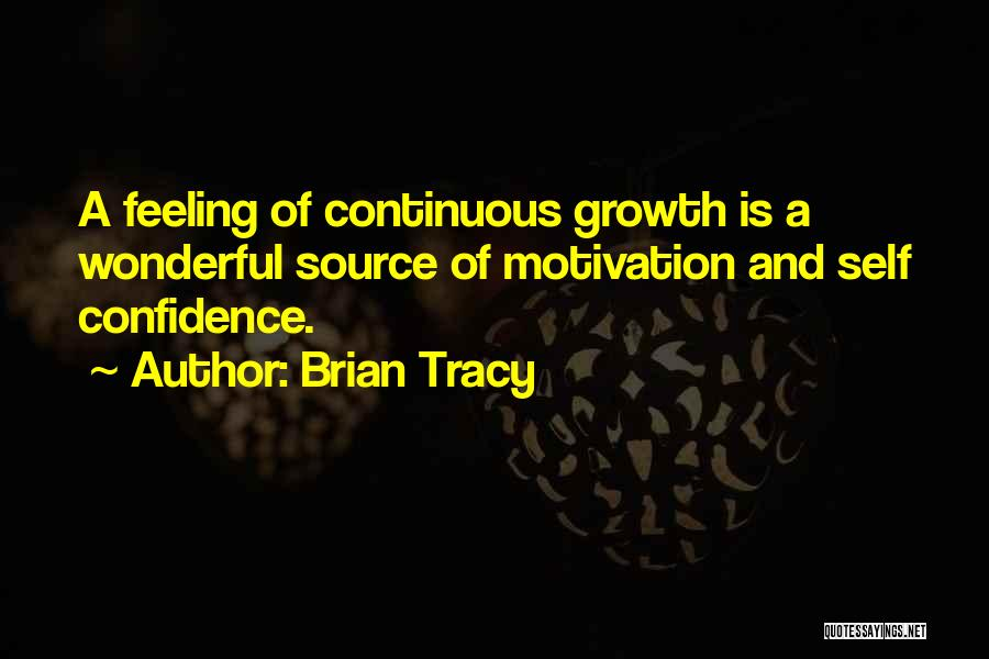 Self Confidence And Self Esteem Quotes By Brian Tracy