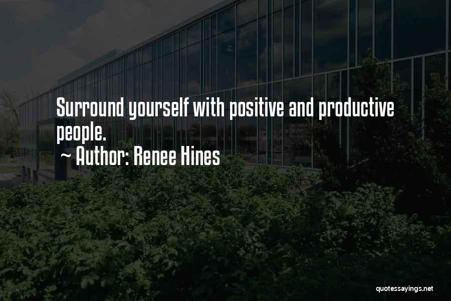 Self Confidence And Self Esteem Quotes By Renee Hines
