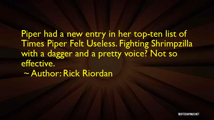 Self Confidence And Self Esteem Quotes By Rick Riordan