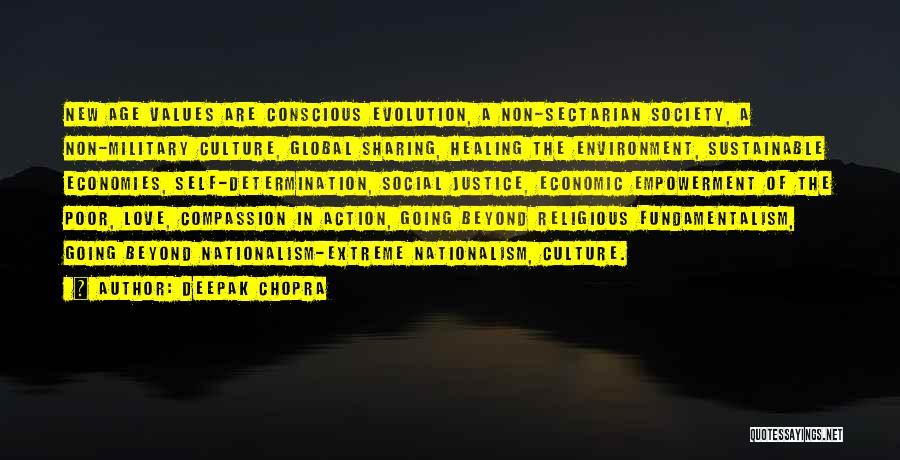 Self Conscious Love Quotes By Deepak Chopra