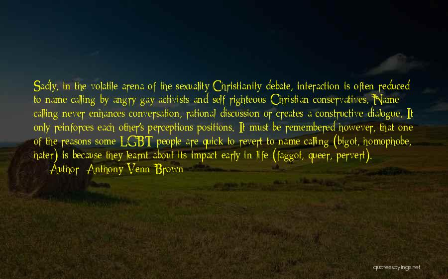 Self Constructive Quotes By Anthony Venn-Brown