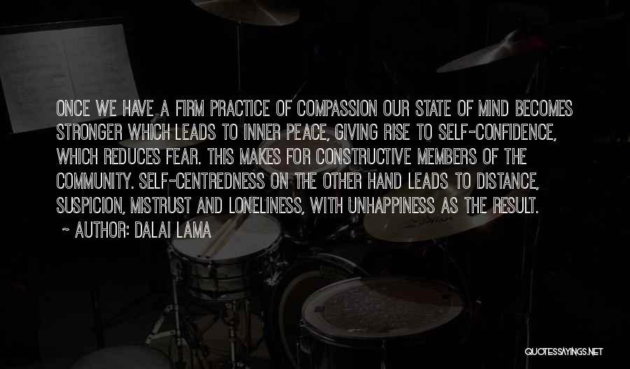 Self Constructive Quotes By Dalai Lama