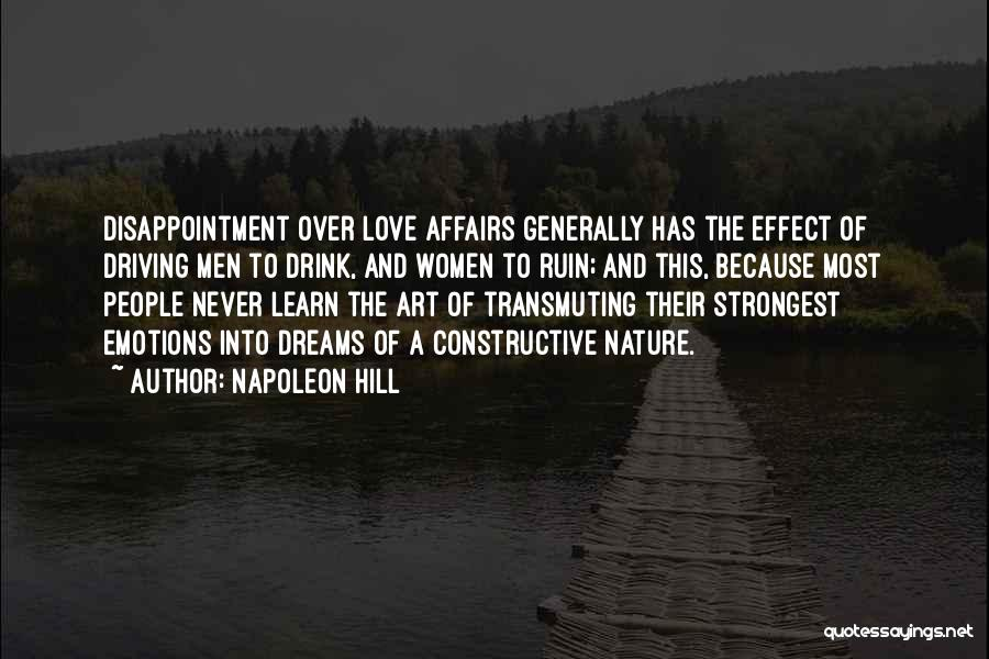 Self Constructive Quotes By Napoleon Hill