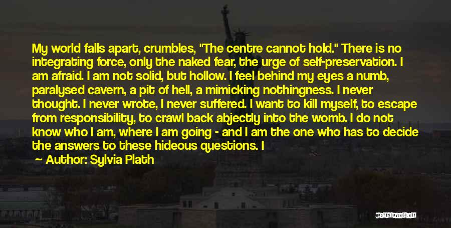 Self Constructive Quotes By Sylvia Plath