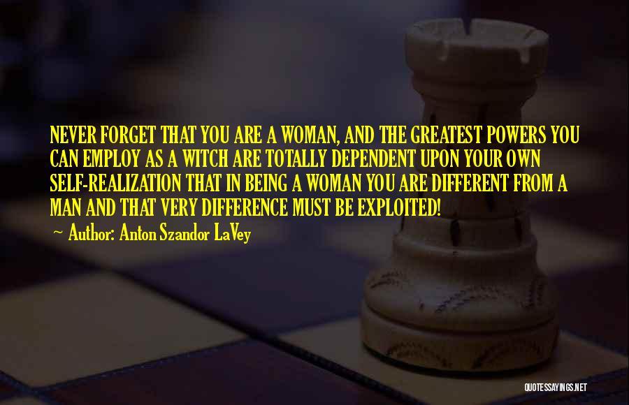 Self Dependent Quotes By Anton Szandor LaVey