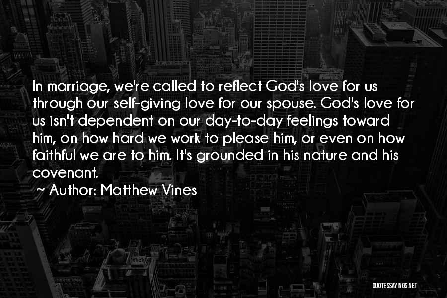 Self Dependent Quotes By Matthew Vines